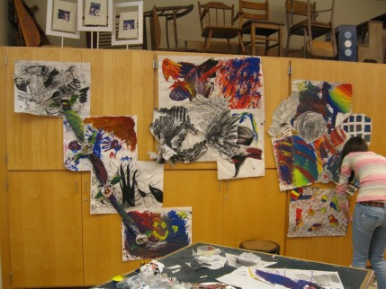Masconomet H.S. shadow drawings provocateur Wistariahurst high school Franklin high school Arts Academy 7-hour workshop included painting drawing dance music performance interpreting art in song Jane Hogan Mike Peacock Marushka Waters Dominique Saulnier dean Nimmer artist teacher professor art from intuition paint techniques sample Gregory Amenoff action painting gesture drawing shadow workshop intuition mass art Montserrat mixed media class Holyoke encaustic acrylic oil watercolor ink print art new England student collage college Nashville summer 2009 2010 2011 2012 artistic artists painterly Concord high school Concord Art League Newton Art Association Massachusetts College of Art and Design massart Art New England expression inner voice instinct instinctual minds eye abstract art abstract expressionism Ted Orland Shaun McNiff Betty Edwards Brian Bomiesler Peter London DeKoonig