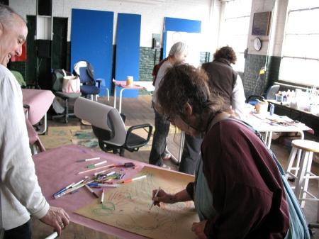 DEAN NIMMER ART WORKSHOP SPRING 2013 GATEWAY CITY ARTS