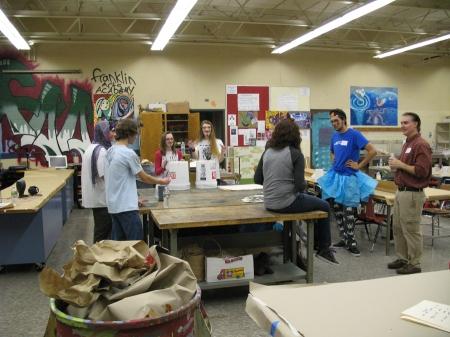 DECEMBER 2012 HAPPENING AT FRANKLIN SCHOOL